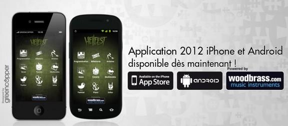 Application Hellfest 2012